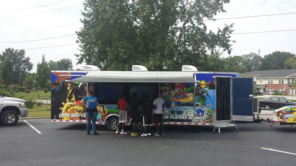 Video game trucks all across the country - book a video game party near me