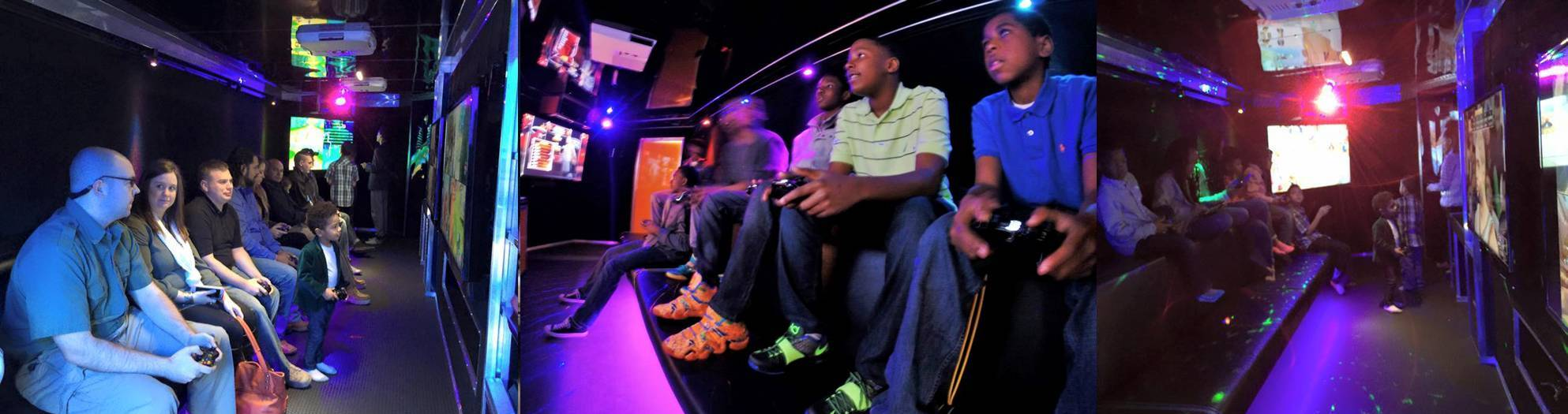 Find a video game truck near me and book a video game party
